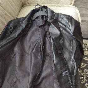 Men's Genuine Leather Blazer Jacket photo review