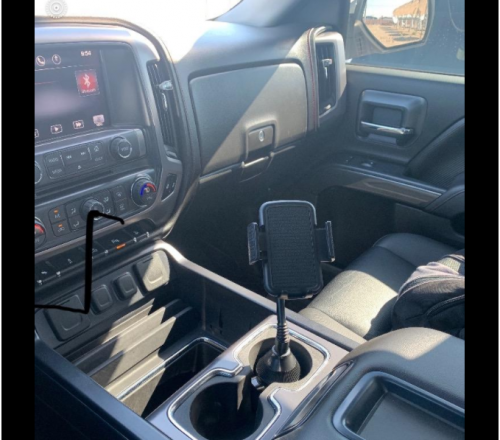 Universal Cup Holder Phone Mount photo review