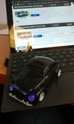Wireless Cute Style Car Model Mouse Gaming Mice With USB photo review
