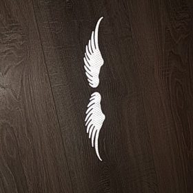 Angel Wings Reflective Car Stickers photo review