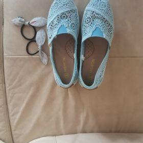 Women's Breathable Lace Mesh Platform Shoes photo review